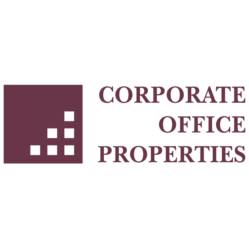 Corporate Office Properties 8960 vector logo