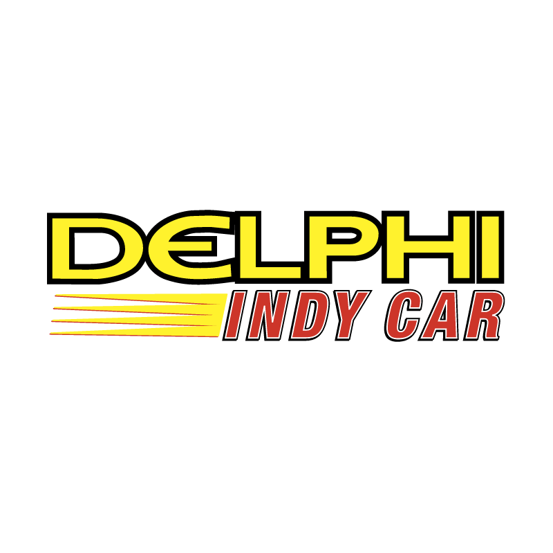 Delphi Indy Car vector logo