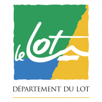 Departement du Lot vector