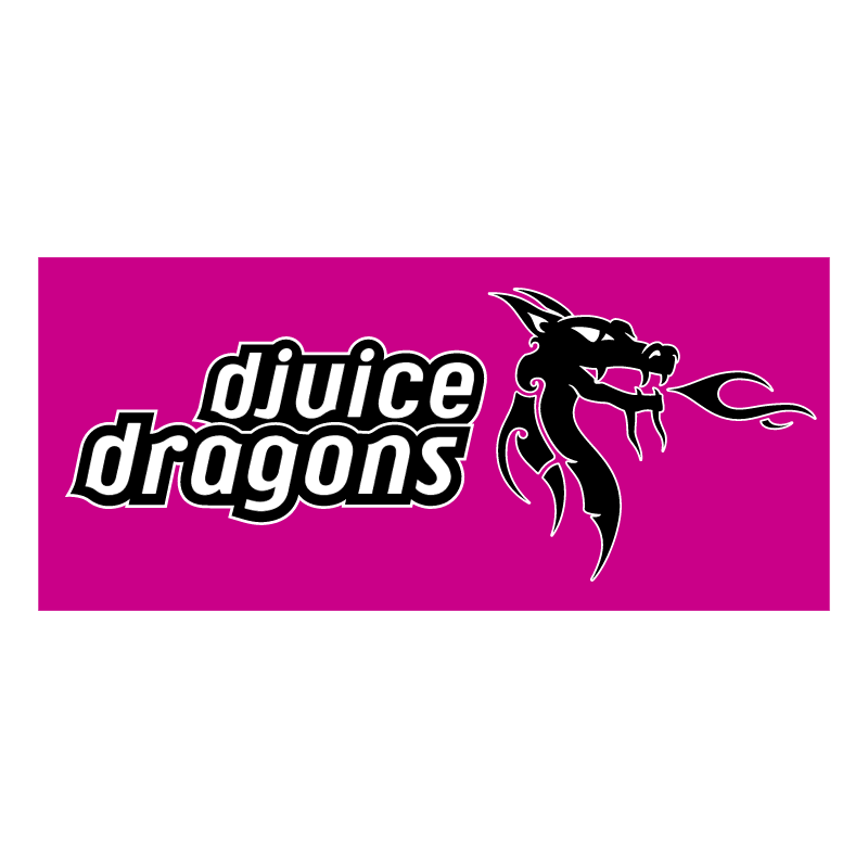 Djuice Dragons vector logo