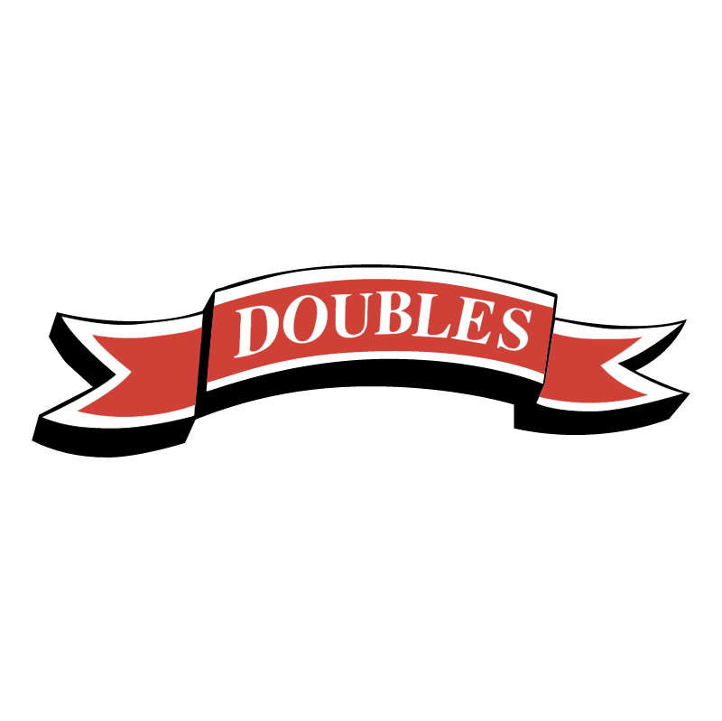 Doubles vector logo