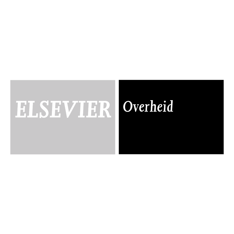 Elsevier Overheid vector logo