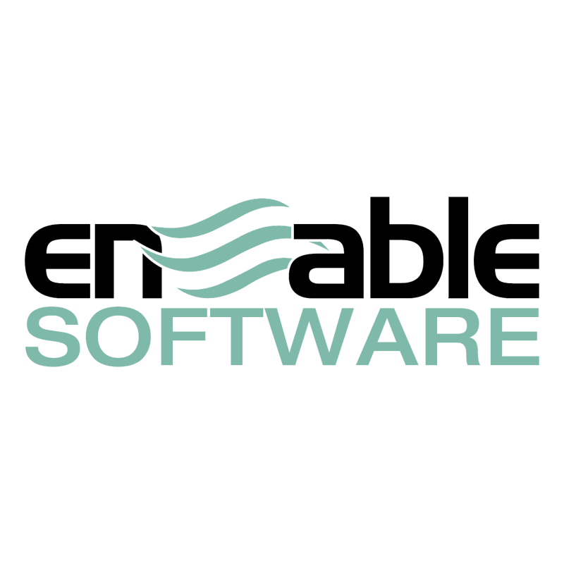 Enable Software vector logo
