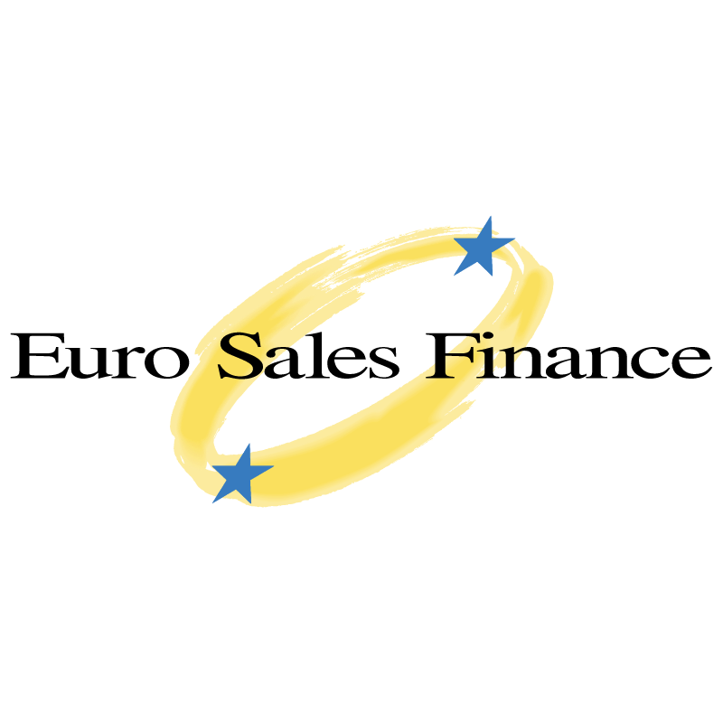 Euro Sales Finance vector