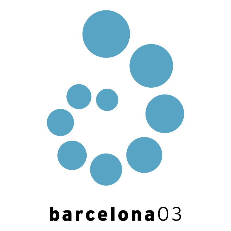Fina World Championships Barcelona 2003 vector logo