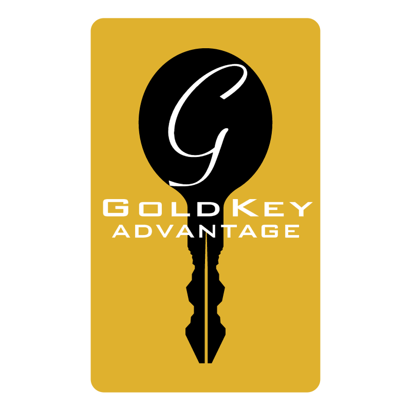 Gold Key Advantage vector