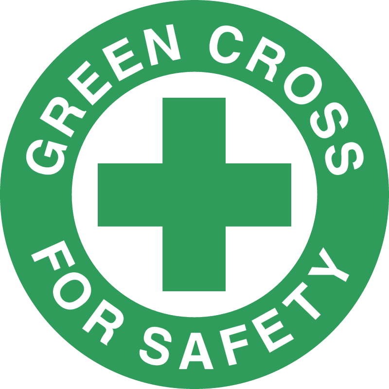 GREEN CROSS FOR SAFETY