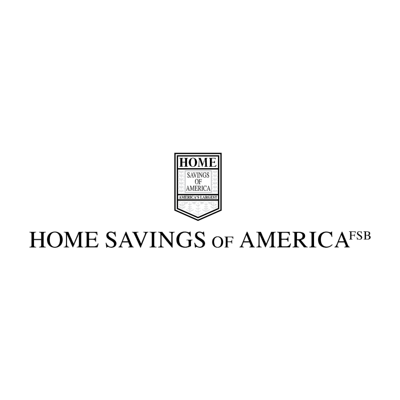 Home Savings of America vector logo