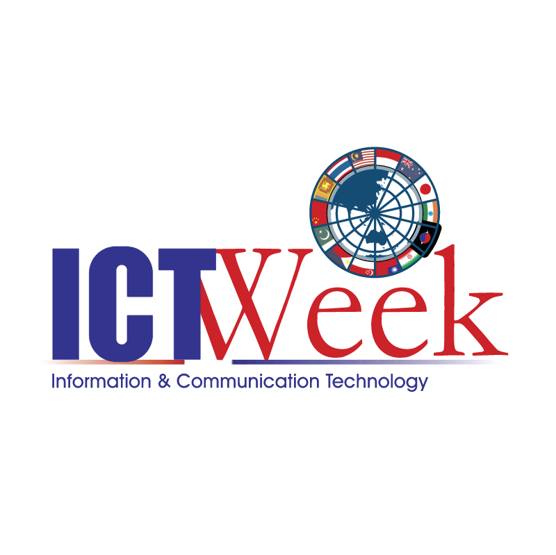 ICT Week vector logo