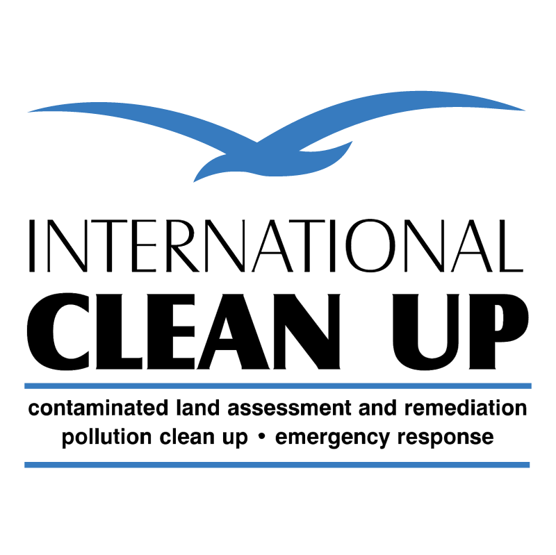 International Clean Up vector