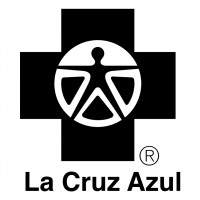 La Cruz Azul vector