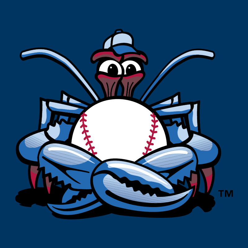 Lakewood BlueClaws vector logo