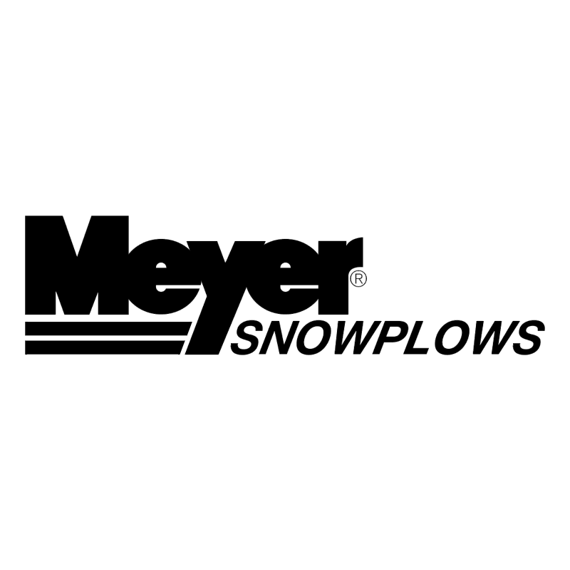 Meyers Snowplows vector