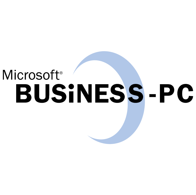 Microsoft Business PC vector
