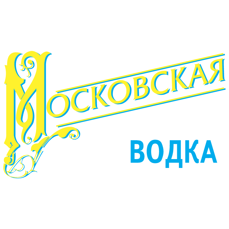 Moskovskaya Vodka vector