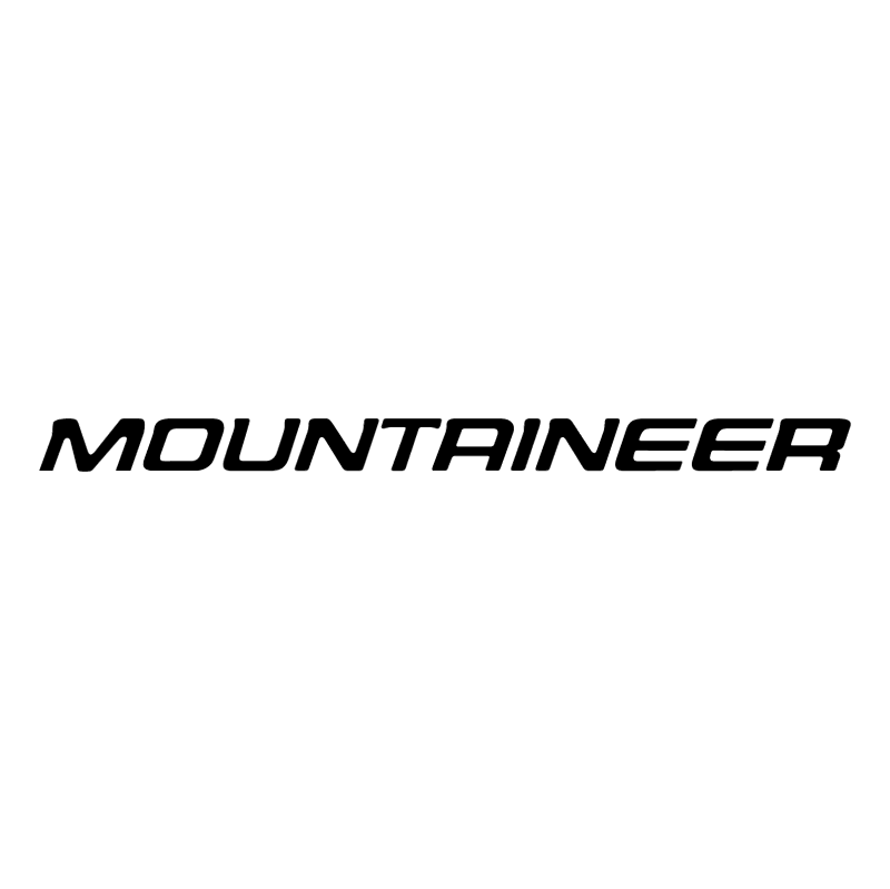 Mountaineer vector