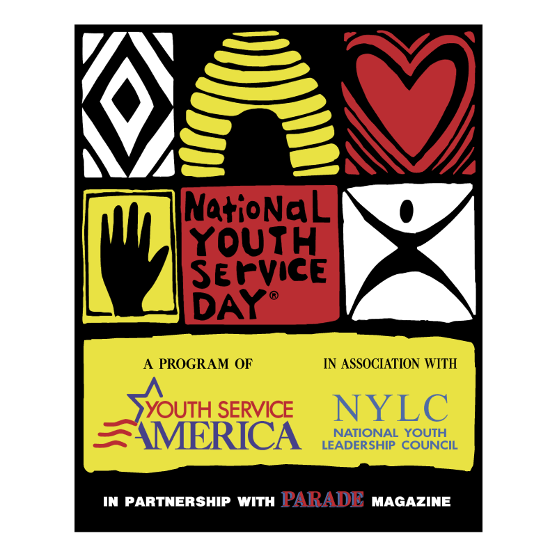 National Youth Service Day vector logo