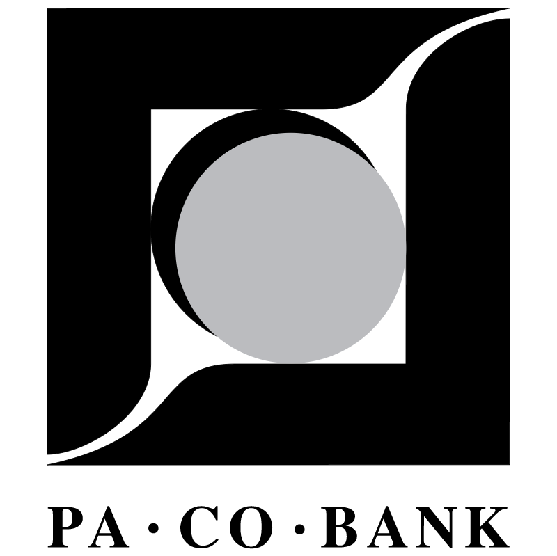 Pa Co Bank vector logo