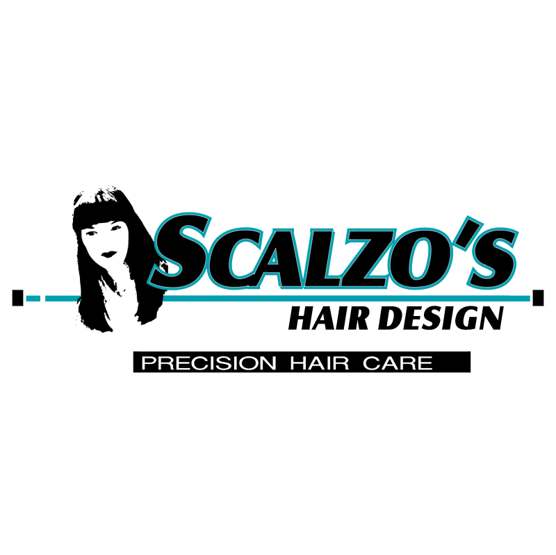 Scalzo's Hair Design vector logo