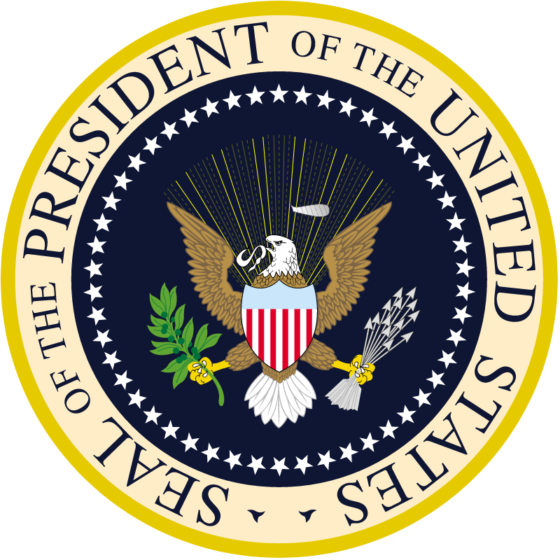Seal of the President US vector