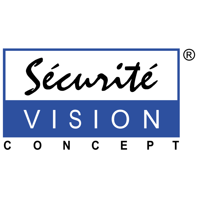 Securite Vision Concept vector logo