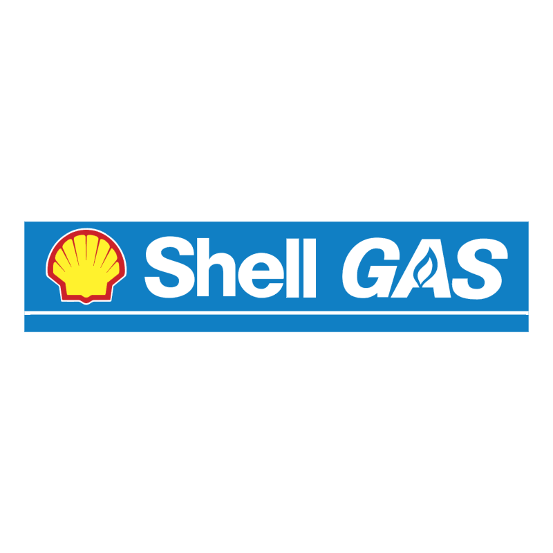 Shell GAS vector logo