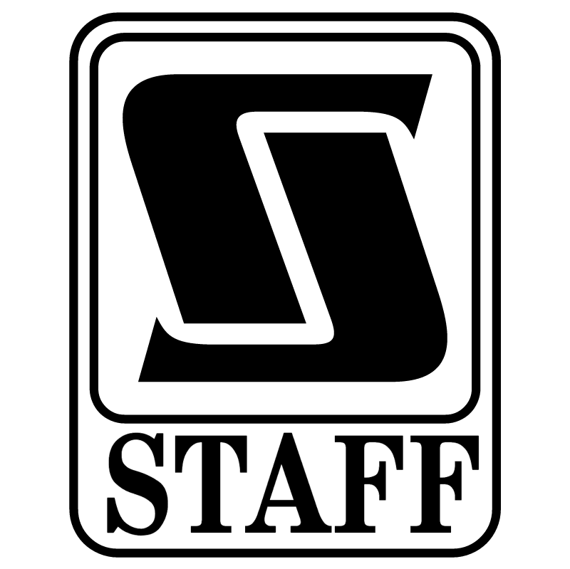 Staff vector logo