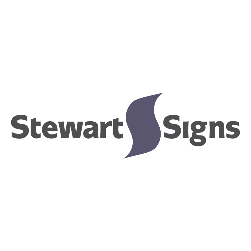 Stewart Signs vector logo
