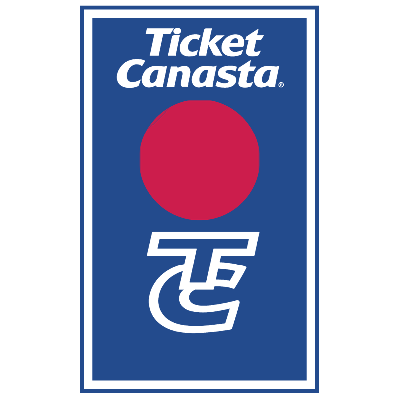 Ticket Canasta vector logo