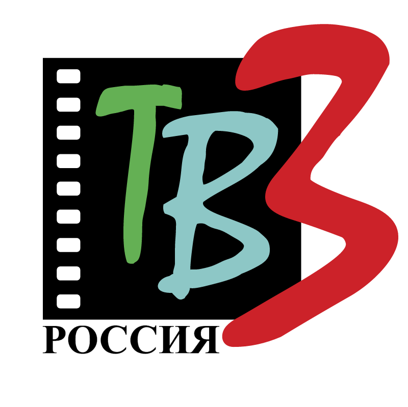 TV3 Russia vector