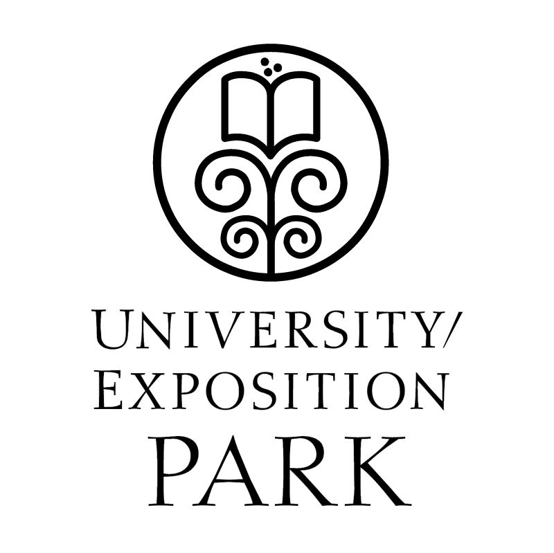 University Exposition Park vector logo