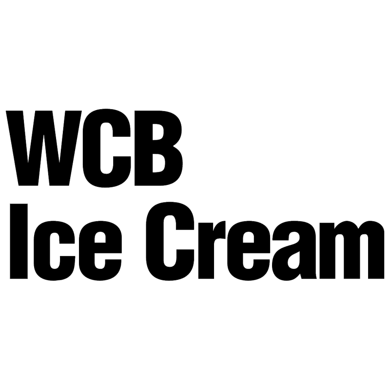 WCB Ice Cream vector