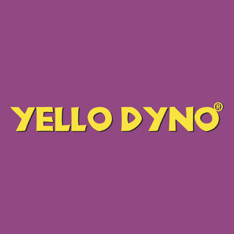 Yello Dyno vector logo