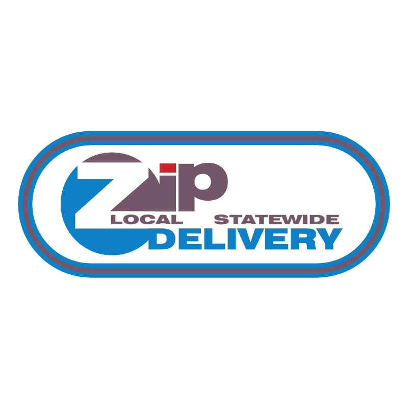 ZIP DELIVERY vector