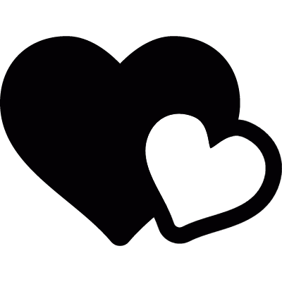 Two hearts logo