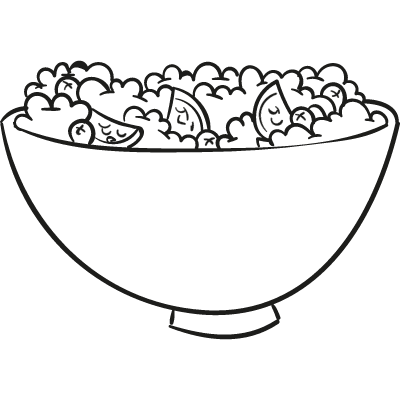 Appetizers Bowl vector logo