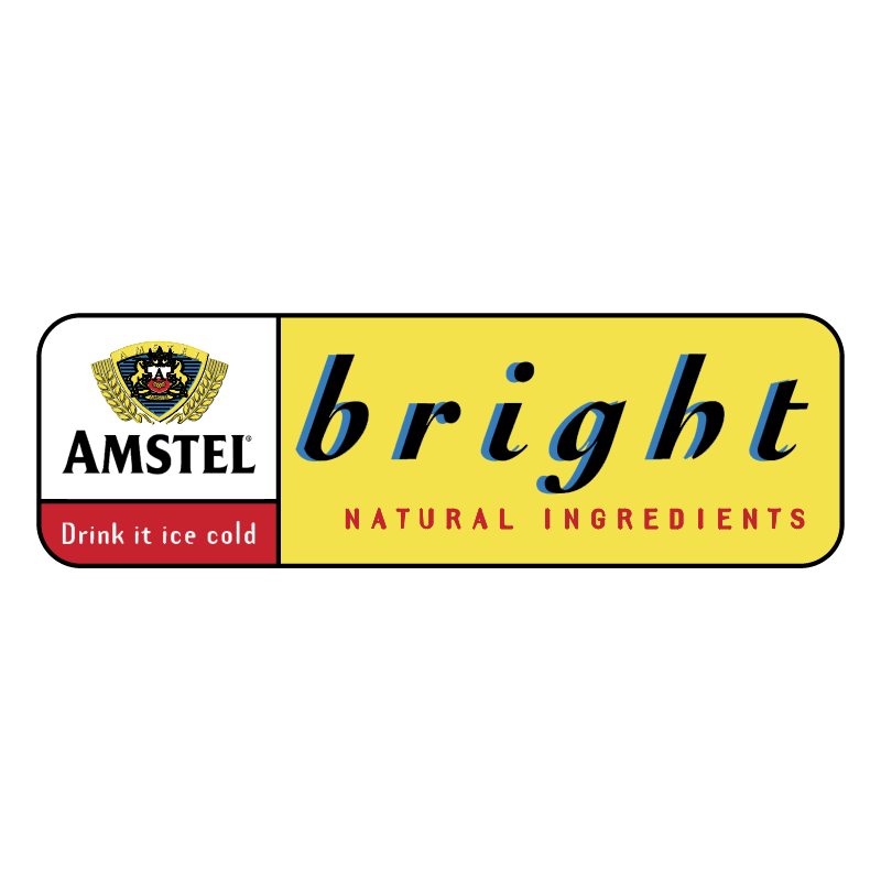 Amstel Bright vector logo