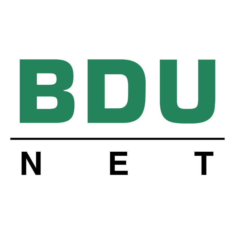 BDU Net 77343 vector