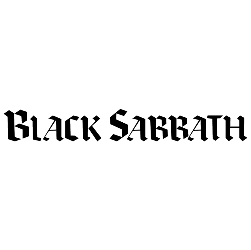 Black Sabbath 29771 vector logo