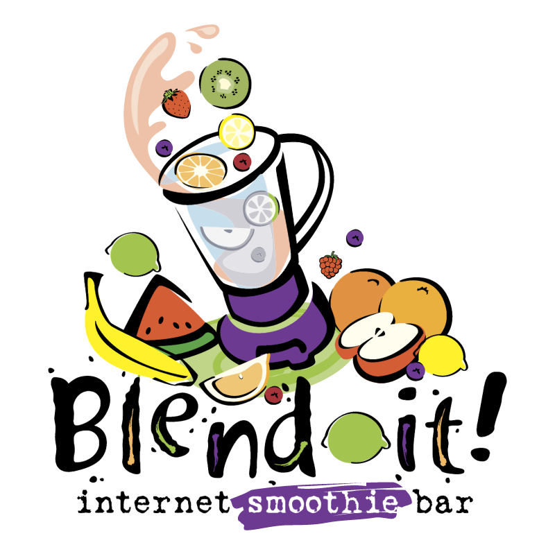 Blend it! vector logo