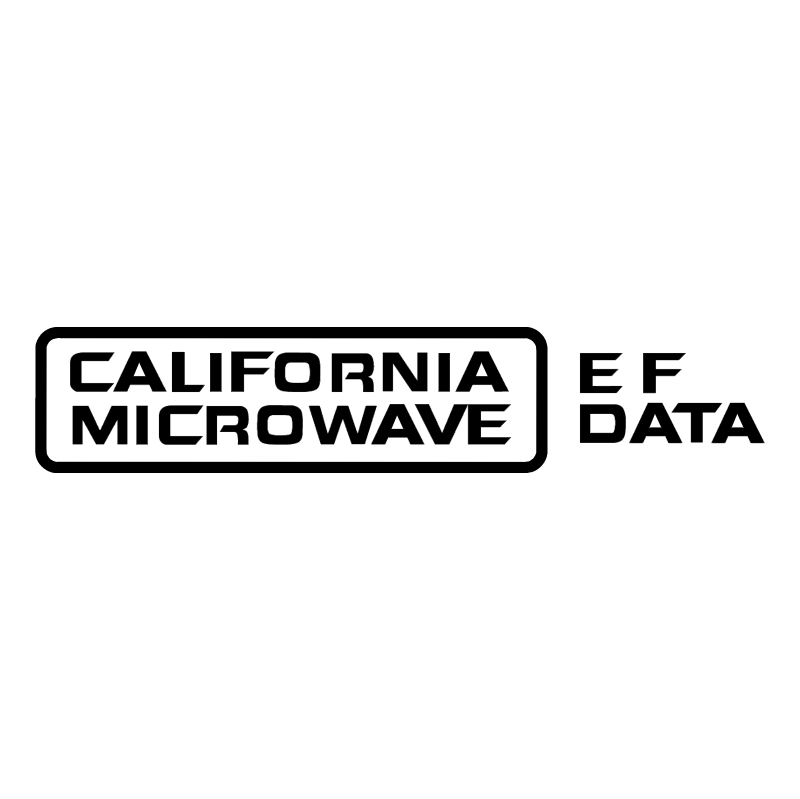 California Microwave vector logo