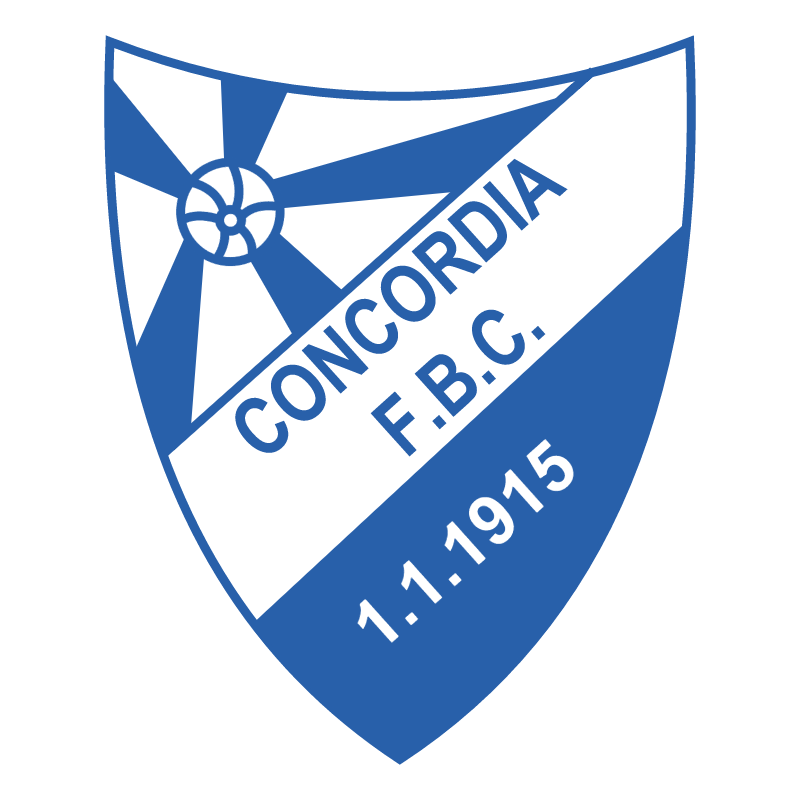 Concordia Foot Ball Club de Porto Alegre RS vector