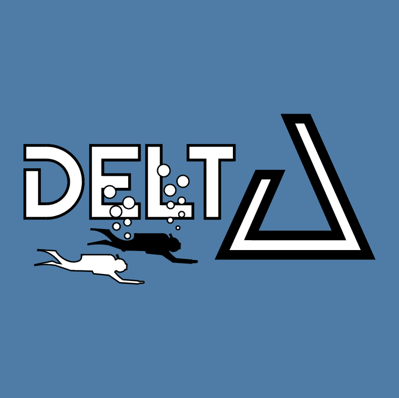 Delta Duikteam vector logo