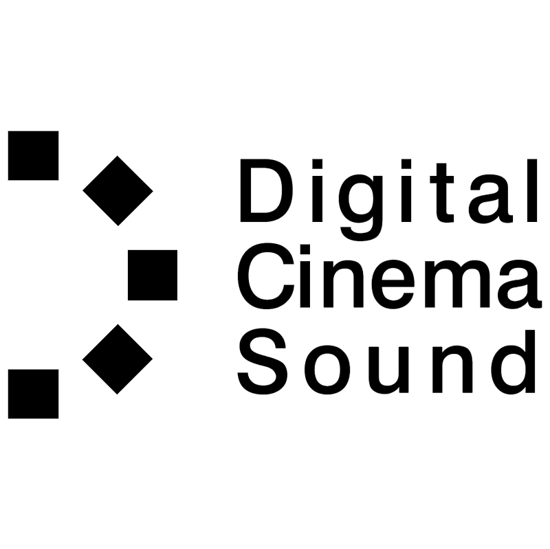 Digital Cinema Sound vector logo