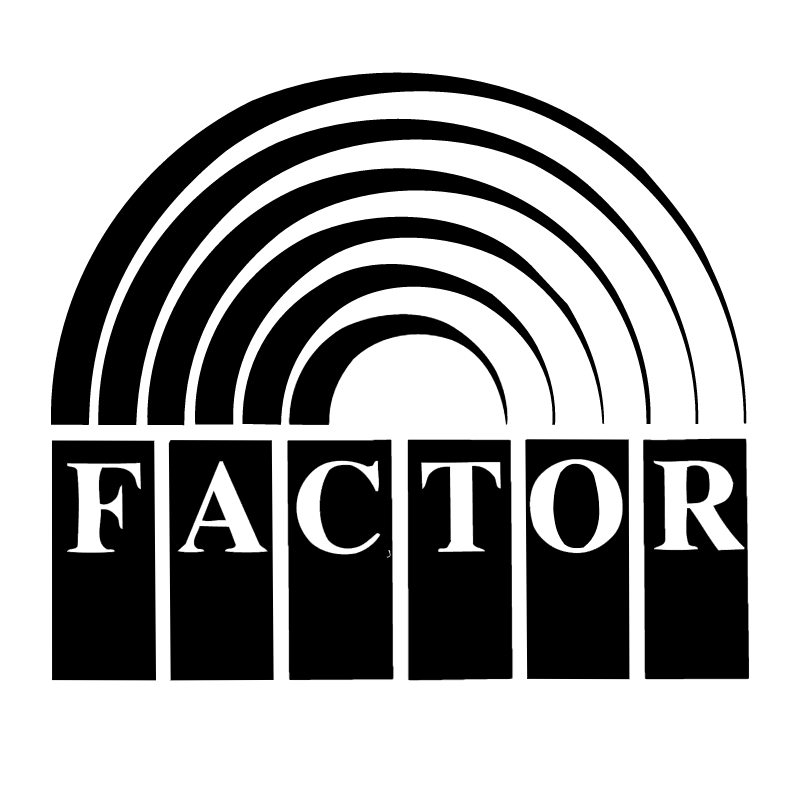 Factor vector logo