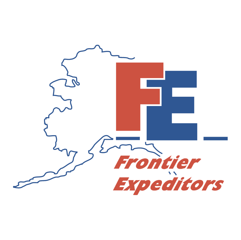 FE Frontier Expeditors vector logo