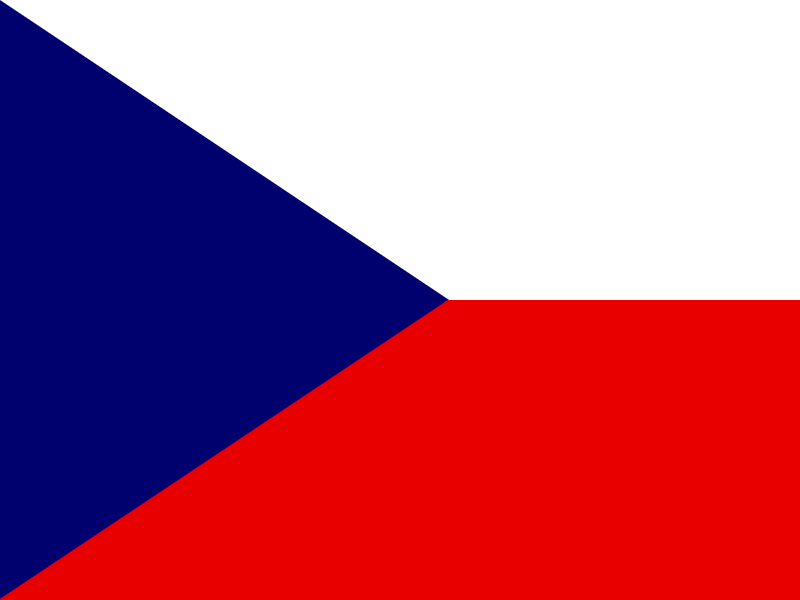 Flag of Czech Republic logo