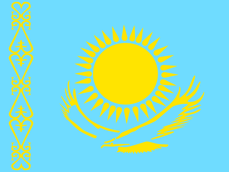 Flag of Kazakhstan logo