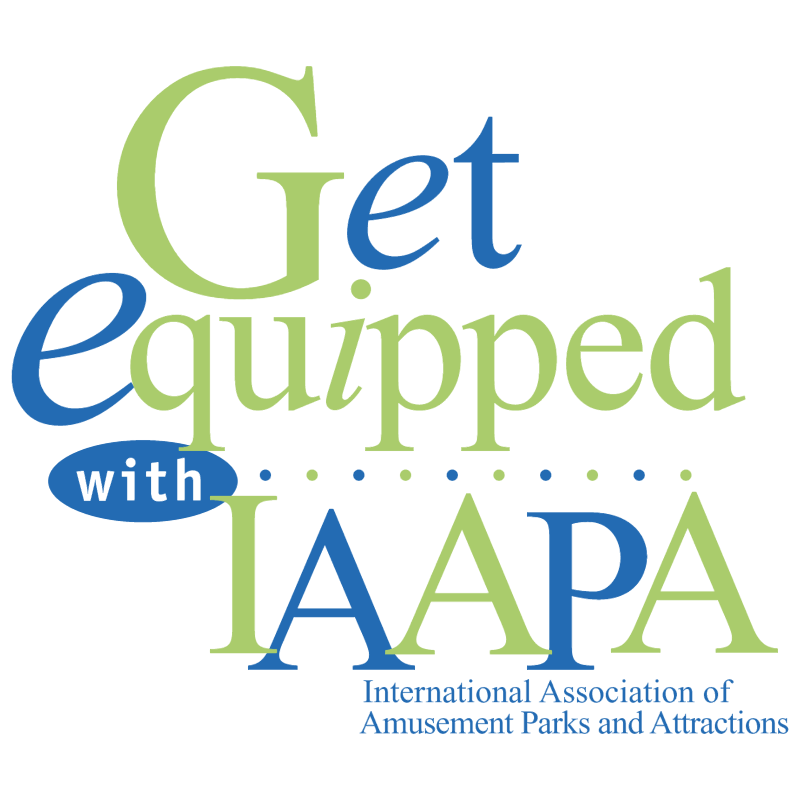 Get equipped with IAAPA logo