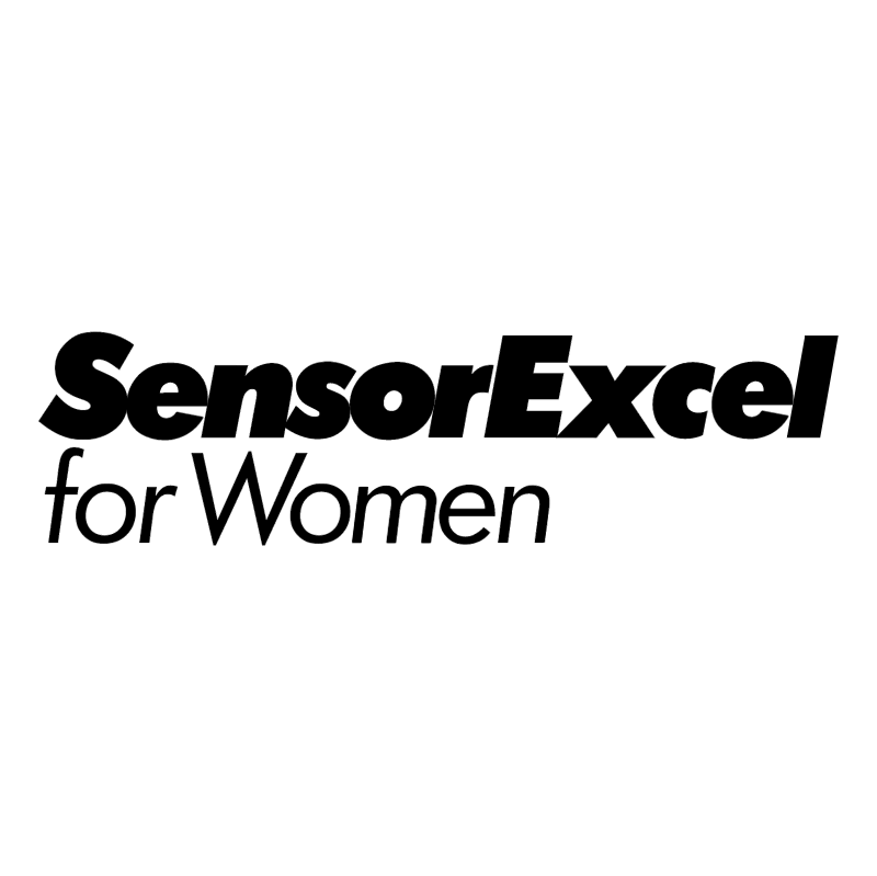 Gillette SensorExcel for Women vector logo